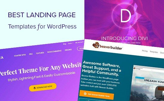 How To Create A Landing Page Background